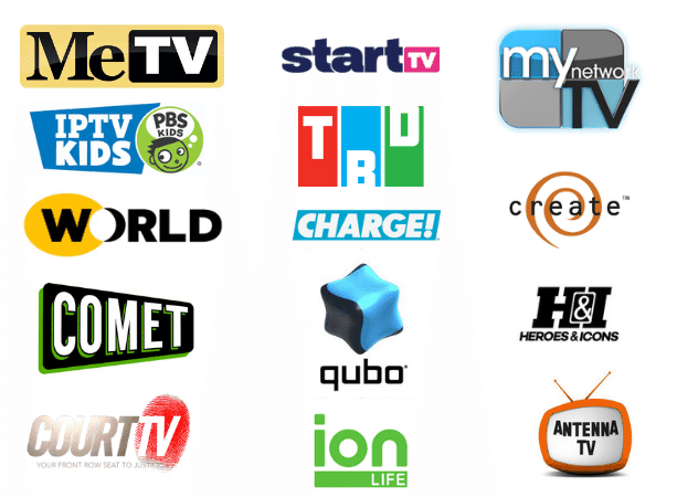 Digital Local FusionTV Channels