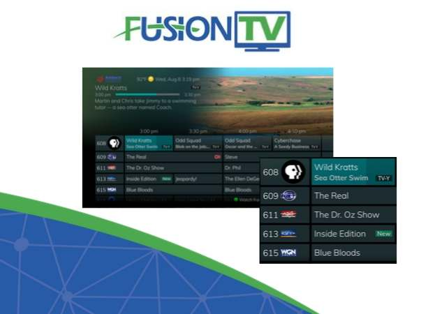 FusionTV New Features