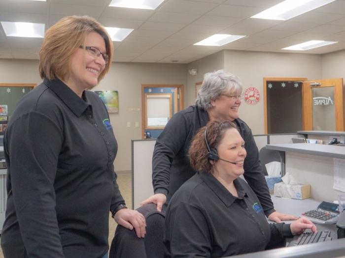 Alpine Communications Customer Service Team Members