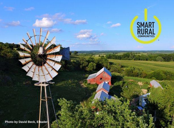 Clayton County Rural Farm Scene