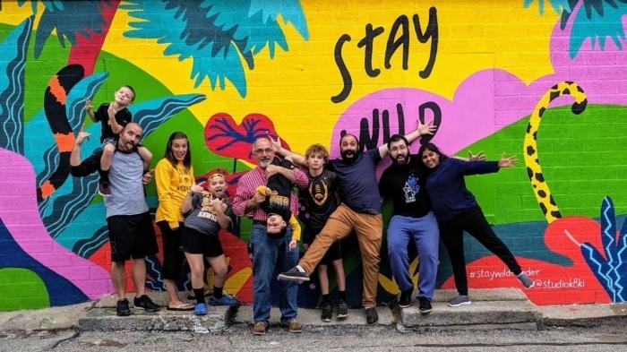 Ketaki Stay Wild Elkader Mural