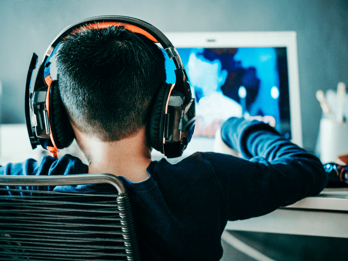 Child Gaming on PC